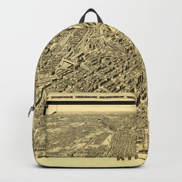 Map Of Atlanta 1919 Backpack