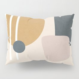 Minimal Abstract Shapes No.58 Pillow Sham