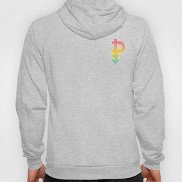 Pansexual Gender Symbol Omnisexuality Gender-Blind Cool Humor Design Pun Gift Hoody