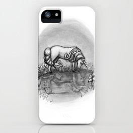 The Transformation: Elise the Unicorn iPhone Case