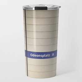 Munich U-Bahn Memories - Odeonsplatz Travel Mug