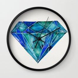 Aquamarine Wall Clock