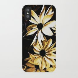 White Florals iPhone Case