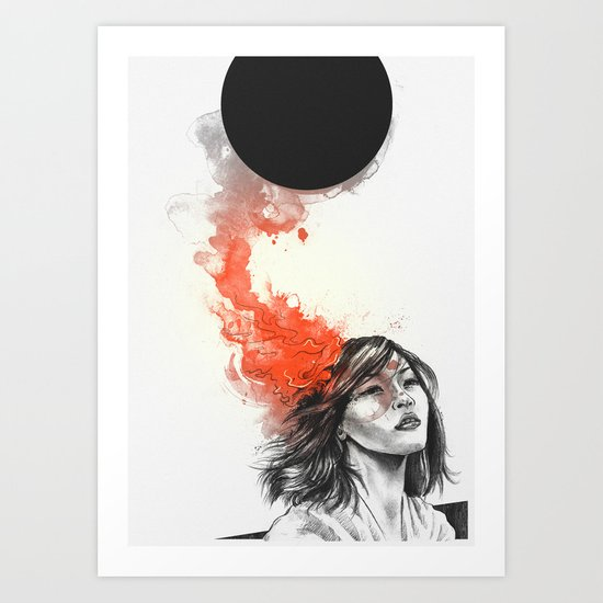 Those Sacrifices Art Print
