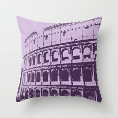 Purpura Coliseum Throw Pillow