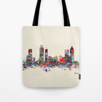 atlanta Tote Bags featuring Atlanta Georgia  by bri.buckley