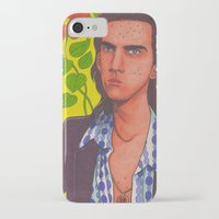 nick cave iPhone & iPod Cases featuring Spotty Nick by Anna Gogoleva