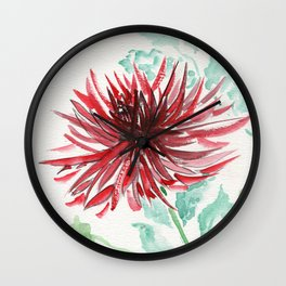 Bursting With Excitement  Wall Clock