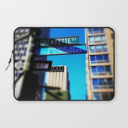 Avenue of the Strongest Laptop Sleeve