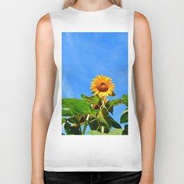 Sunflower in the Sky Biker Tank