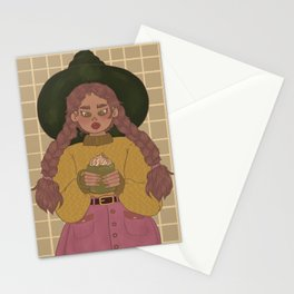 Caramel Hot Cocoa Stationery Cards