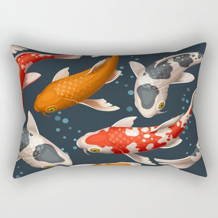 Fishes Rectangular Pillow