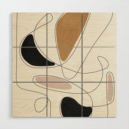 Thin Flow III Wood Wall Art