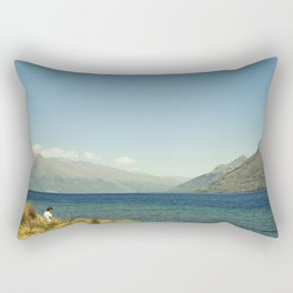 Calm shore Rectangular Pillow