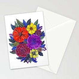 Floral Passion Stationery Cards