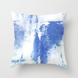 Corn flower abstract Throw Pillow
