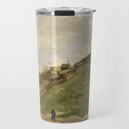 The hill of Montmartre with Stone Quarry Travel Mug