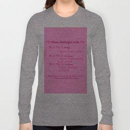 Mama Umbridge's Rules Long Sleeve T-shirt