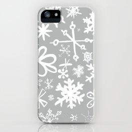 Snowflake Concrete iPhone Case