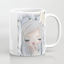 Silence of the Snowdrops Coffee Mug