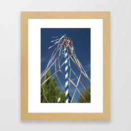 Mai Pole Framed Art Print