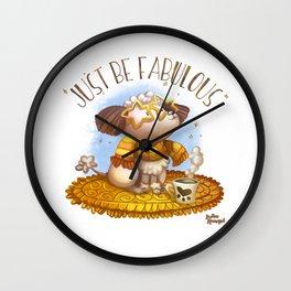 Jut Be Fabulous Wall Clock
