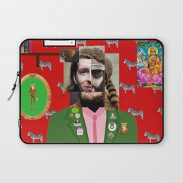 Wes Anderson illustration Laptop Sleeve