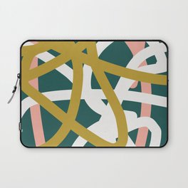 Abstract Lines 02B Laptop Sleeve