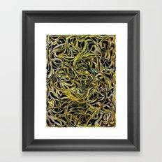 A Tangle of Vines Framed Art Print