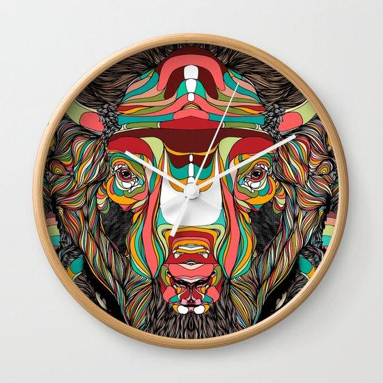 Bison (Feat. Bryan Gallardo) Wall Clock