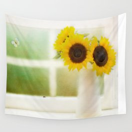 Summers Window Wall Tapestry
