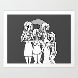 Who Is Ana Ng? Art Print