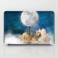 sandman iPad Cases featuring Good Night Moon by Diogo Verissimo