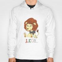 leon Hoodies featuring Leon by eva vasari