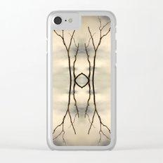 Desert Portal Clear iPhone Case