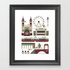 Vienna / Wien Framed Art Print
