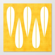 Make Mine MCM Orange Canvas Print