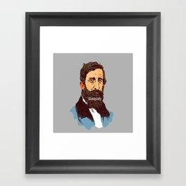 Simplify Framed Art Print