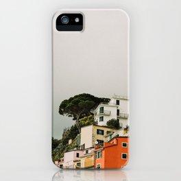 top of riomaggiore iPhone Case