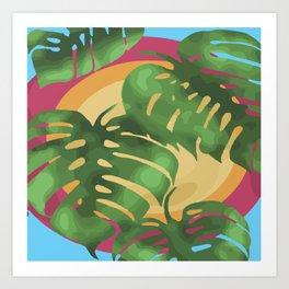 Tropical splendour Art Print