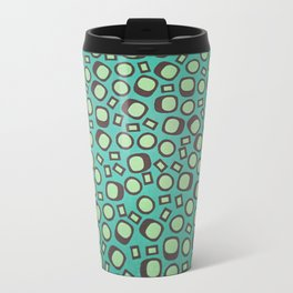 Abstract shapes - Pattern Design - Wild Veda Travel Mug