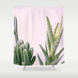 #03#cactus#succulent#plant Shower Curtain