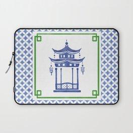 Chinoiserie - Le Pavillon 1 Laptop Sleeve