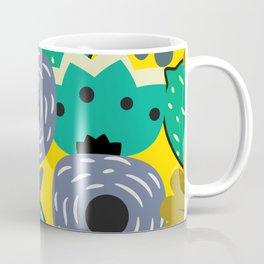 Fresh lemons and flowers Coffee Mug