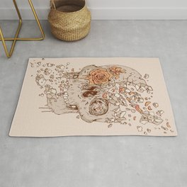 Disintegrate (A Violent Decay):  The Fragile Intensity of Existence Rug