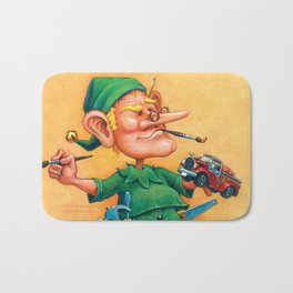 Elf Alexlander - Toys Department Bath Mat