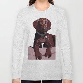 Chocolate Labrador Long Sleeve T-shirt