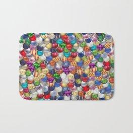 Christmas balls Bath Mat