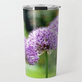 Three Purple Sparklers Travel Mug