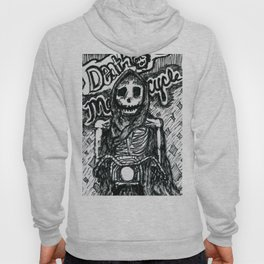 Death on a Motorcycle Hoody